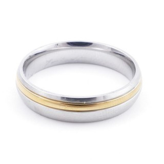 38896 PACK OF 10 STAINLESS STEEL RINGS IN ASSORTED SIZES. THICKNESS: 5 MM