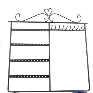 36335 METALLIC DISPLAY STAND FOR EARRINGS AND NECKLACES 35 X 30 CM