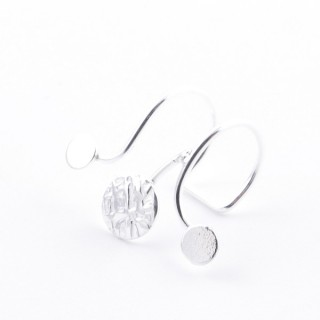 52144-03 STERLING SILVER 16 X 8 MM CUFF EARRING (ONE PIECE)