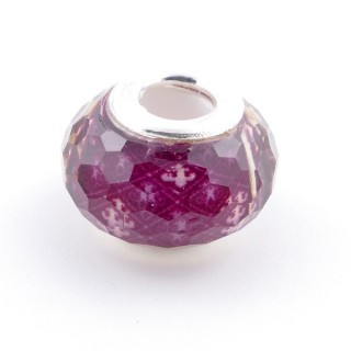 51233-14 STERLING SILVER & RESIN 9 X 14 MM CHARM. HOLE: 4.5 MM