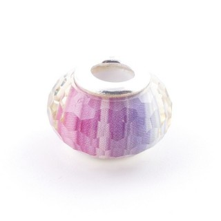 51233-16 STERLING SILVER & RESIN 9 X 14 MM CHARM. HOLE: 4.5 MM