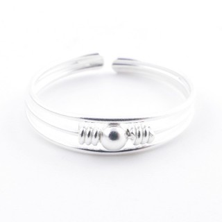 52135-19 STERLING SILVER 5 MM WIDE RING SIZE 19