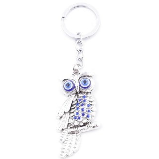 38581 METAL FASHION KEYRING WITH TURKISH EYE