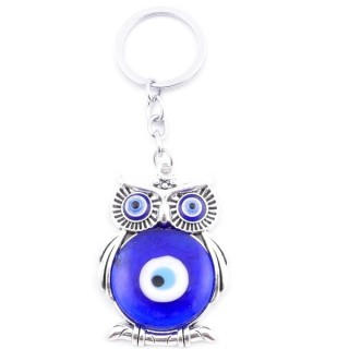 38583 METAL FASHION KEYRING WITH TURKISH EYE