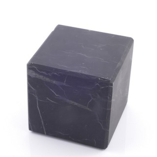48026 UNPOLISHED 4 CM CUBE IN SHUNGITE STONE FROM RUSSIA