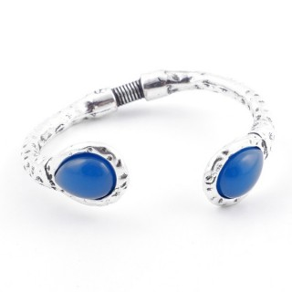 METAL FASHION JEWELRY BRACELET WITH RESIN