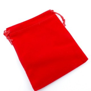 49285-01 PACK OF 50 RED VELVET 10 X 12 CM BAGS