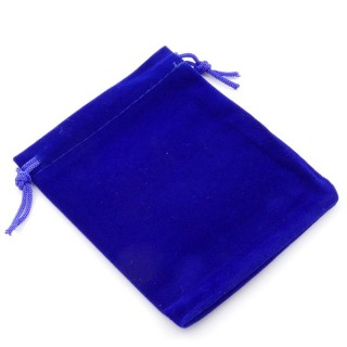 49285-02 PACK OF 50 BLUE VELVET 10 X 12 CM BAGS