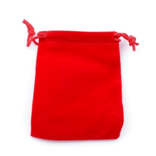 49284-01 PACK OF 50 RED VELVET 7 X 9 CM BAGS