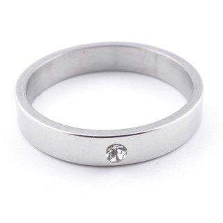 4918200 PACK OF 12 STAINLESS STEEL RINGS IN ASSORTED SIZES 4 MM