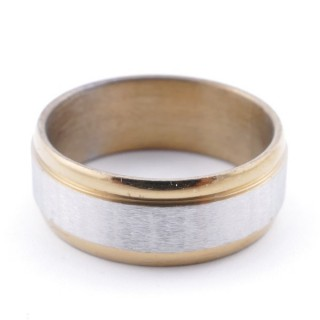 4918800 PACK OF 12 STAINLESS STEEL RINGS IN ASSORTED SIZES 7.5 MM