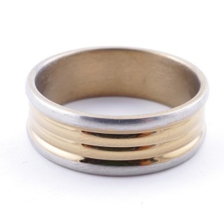 4919000 PACK OF 12 STAINLESS STEEL RINGS IN ASSORTED SIZES 7.5 MM