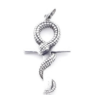5024500 STERLING SILVER ANKH SHAPED 39 X 22 MM PENDANT