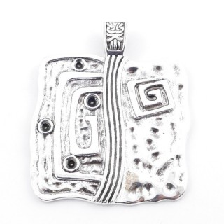 38560-02 METAL ALLOY 72 X 59 MM PENDANT FOR MAKING NECKLACES