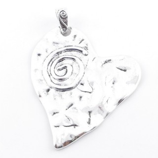 38560-05 METAL ALLOY 78 X 68 MM PENDANT FOR MAKING NECKLACES