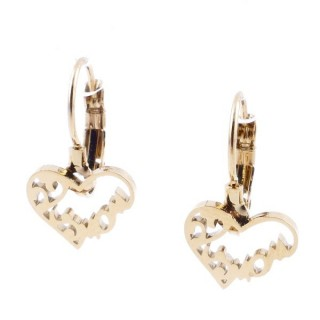 49585-03 STAINLESS STEEL CATALAN CLASP EARRINGS