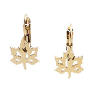 49585-05 STAINLESS STEEL CATALAN CLASP EARRINGS