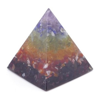 49513-07 ORGONITE PYRAMID WITH 5 X 5 CM BASE AND 5 CM HEIGHT