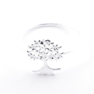52182-17 STERING SILVER 10 MM WIDE RING. SIZE 17