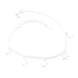 52190-03 STERLING SILVER 925 CHARM BRACELET
