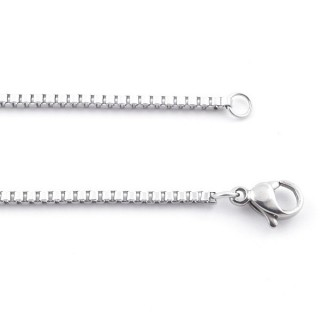 38842 STAINLESS STEEL 60 CM LONG 1,6 MM THICK CHAIN