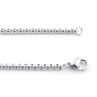 38848 STAINLESS STEEL 60 CM LONG 2,5 MM THICK CHAIN