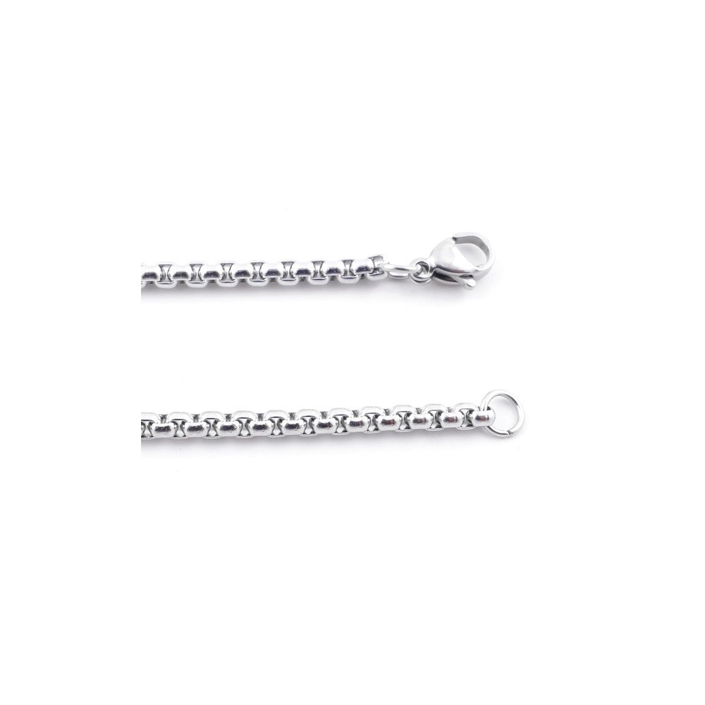 38851 STAINLESS STEEL 60 CM LONG 3 MM THICK CHAIN