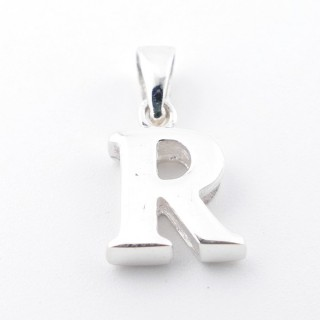 55427-18 SILVER 925 PENDANT 13 X 10 MM OF THE LETTER: R