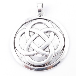 38560-10 METAL ALLOY 65 MM PENDANT FOR MAKING NECKLACES
