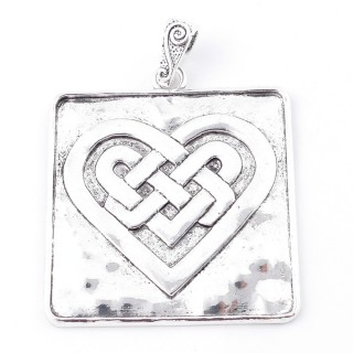 38560-18 METAL ALLOY 57 X 57 MM PENDANT FOR MAKING NECKLACES