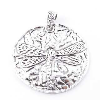 38560-24 METAL ALLOY 63 MM PENDANT FOR MAKING NECKLACES