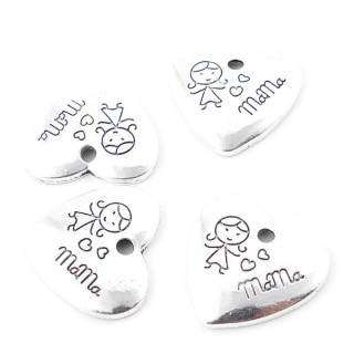 35559-01 METAL ALLOY 22 MM PENDANT FOR MAKING NECKLACES