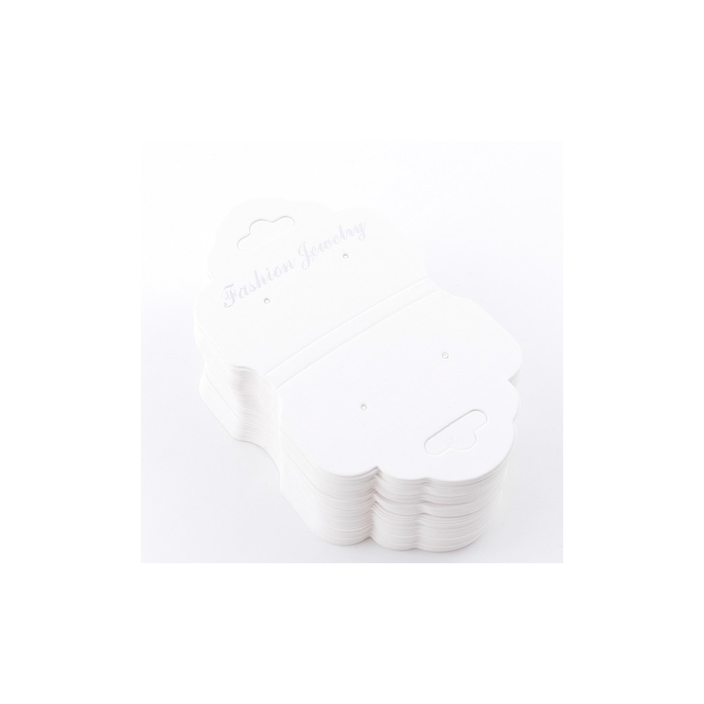 49349 PACK OF 100 CARDS FOR JEWELLERY 7,2 X 14,2 CM