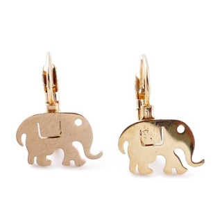 49585-02 STAINLESS STEEL CATALAN CLASP EARRINGS