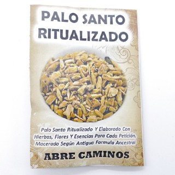 0466105 PAQUETE DE 8 GRAMOS DE POLVO DE PALO SANTO RITUALIZADO: ABRECAMINOS