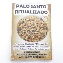 0466112 PAQUETE DE 8 GRAMOS DE POLVO DE PALO SANTO RITUALIZADO: MAL DE OJO